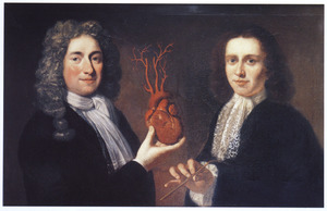 Twee overlieden van het Chirurgijnsgilde, mogelijk A. Boekelman en Jan Six