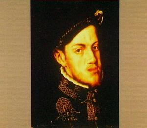 Portret van Filips II, koning van Spanje (1527-1598)