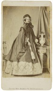 Portret van mw. Borski