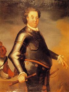 Portret van Friedrich Adolf Graf zur Lippe (1667-1718)