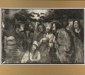 Het Pinksterwonder: de nederdaling van de Heilige Geest (Handelingen 2: 1-4)