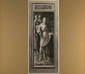 Christus bij Maria en Martha (linkerluik)