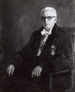 Portret van Hendricus Jacobus Marie Weve (1888-1962)