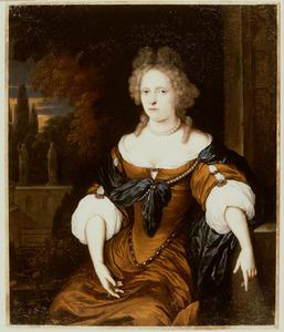Portret van een vrouw, mogelijk Elisabeth Catharina Buisero ( -1717)