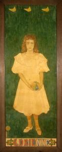 Portret van Adrienne Henny (1889-1983)