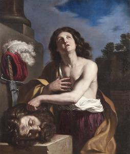 David met het hoofd van Goliath (1 Samuel 17:57)