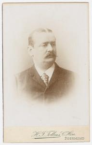 Portret van Friedrich Wilhelm Otto Kohnen