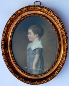 Portret van Jacob Brouwer Starck (1800-1871)
