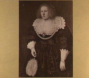 Portret ven een jonge vrouw