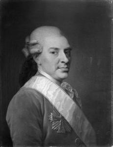 Portret van Henrik Hielmstierne (1715-1780)