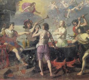 Het martyrium van de H. Johannes de Evangelist