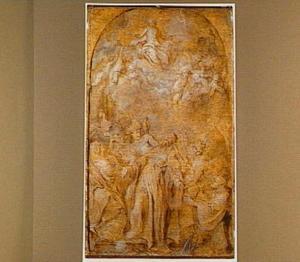 De extase van de H. Augustinus