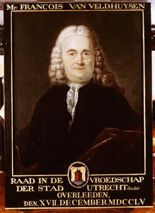 Portret van Francois van Veldhuijzen ( -1755)