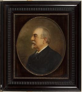 Portret van Willem Constantijn baron van Pallandt (1836-1905)