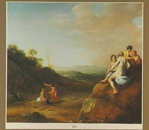 Landschap met Diana en haar nimfen