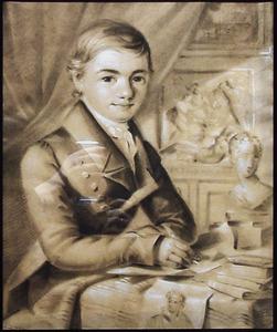 Portret van Johan Joeke Gabriël van Wicheren (1808-1897)