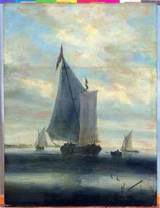 Zeilboten op de Haarlemmermeer