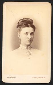 Portret van Hermina Geertruida Buyskes (1851-1898)