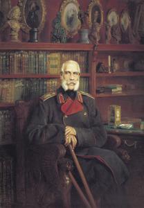 Portret van graaf Sergey Grigoryevich Stroganov (1794-1882)