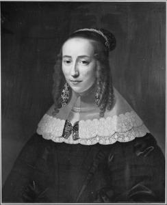 Portret van Sara Godin (1621-1650)