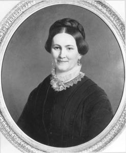 Portret van Elisabeth Sibenda Slot (1828-1915)