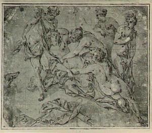 Diana with her nimfen ontdekken van de zwangerschap van Callisto