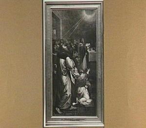 Paulus en Barnabas door de H. Geest als apostelen uitverkozen (Handelingen 13:2)