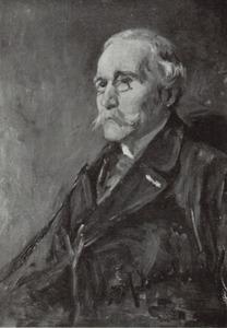 Portret van J.G. Mulder
