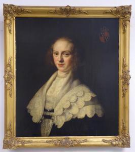 Portret van Anna van Waesdorp (1621-1679)