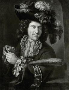 Portret van de hofnar van Karl III Philipp kürfurst von der Pfalz