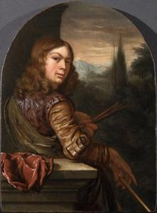 Zelfportret  van Jan van Mieris (1660-1690)