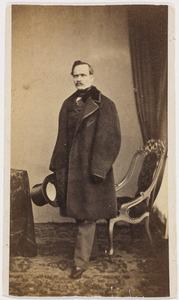Portret van een man, waarschijnlijk Edouard Henri Elphinstone graaf van Bylandt (1806-1869)