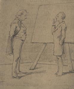 Portret van Wilhelmus Bernardus Gerardus Molkenboer (1844-1915)