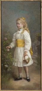 Portret van Isabelle Antoinette Marie van Aldenburg Bentinck (1889-1981)