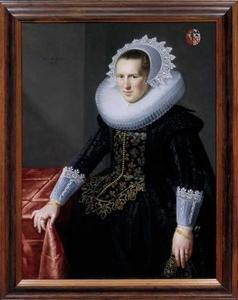 Portret van Anna Strick (1591-1637)