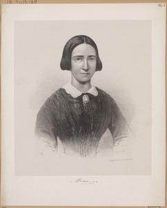 Portret van een persoon genaamd Marianne van Oranje- Nassau (1810-1883)