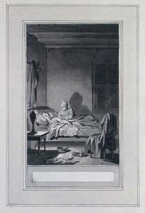 Illustratie bij 'De aangenaame droom' uit de Fabelen en vertelsels van F.C. Gellert
