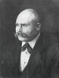 Portret van Reinder Jacobus Nicolaas Solkamans (1866-1954)