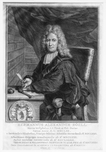 Portret van Hermanus Alexander Röell (1653-1718)