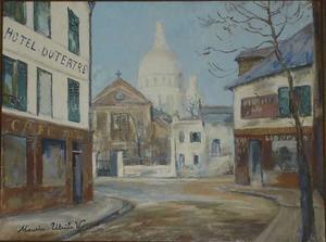 Place du Tertre in Parijs