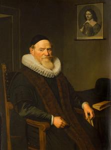 Portret van een man, waarschijnlijk Michiel Gerard (1575-1649)