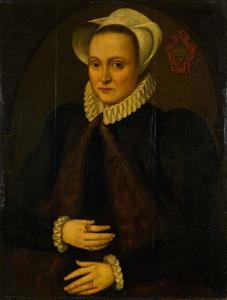 Portret van Mijnsie van Wassenaar