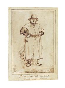 Portret van Rembrandt (1606-1669)