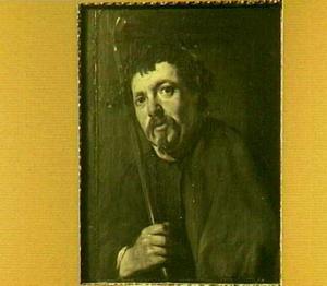 Portret van man onbekende herder