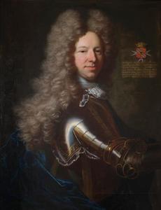 Portret van Friedrich Wilhelm des H.R. Rijksbaron van Spaen (1667-1735)