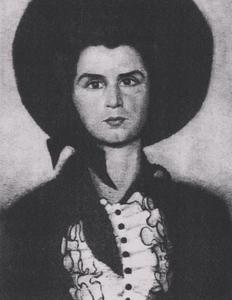 Portret van Johanna H.F. Nengerman