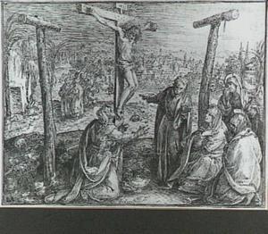 De Kruisiging met o.a. Maria, Johannes en Maria Magdalena