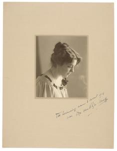 Portret van Anthonetta Naeff (1878-1953)