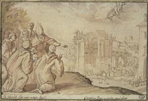 De H.  Anno sticht de abdij Saalfeld