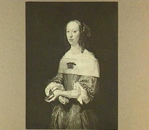 Portret van Lucia Helena van Aebinga (1635-1670)